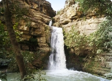 Gali Ali Bag waterfalls